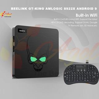 android tv box Beelink GT King 4GB Ram 64GB Rom, điều khiển giọng nói và cử chỉ kèm bàn phím kiêm chuột mini