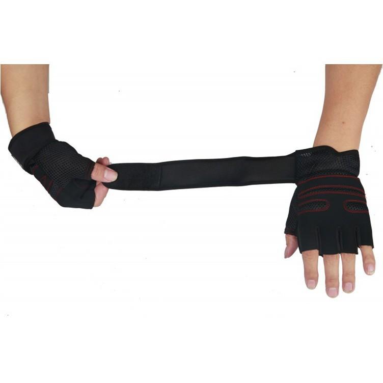 [ĐỔ SỈ] Găng tay SPORT ngón cụt (găng tay chuyên tập GYM)