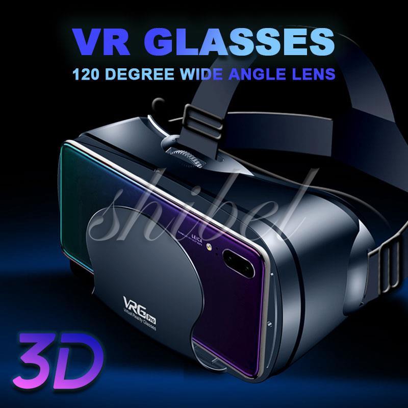 VR Headset Glasses 3D VR Glasses Home Universal Head-Mounted Travel