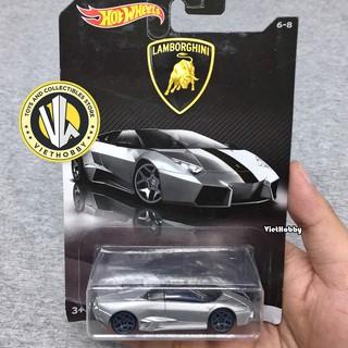 Xe mô hình 1:64 Hot Wheels Lamborghini Collection – Lamborghini Reventon Roadster