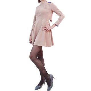 Đầm ChicLine màu da nâu, size S-M