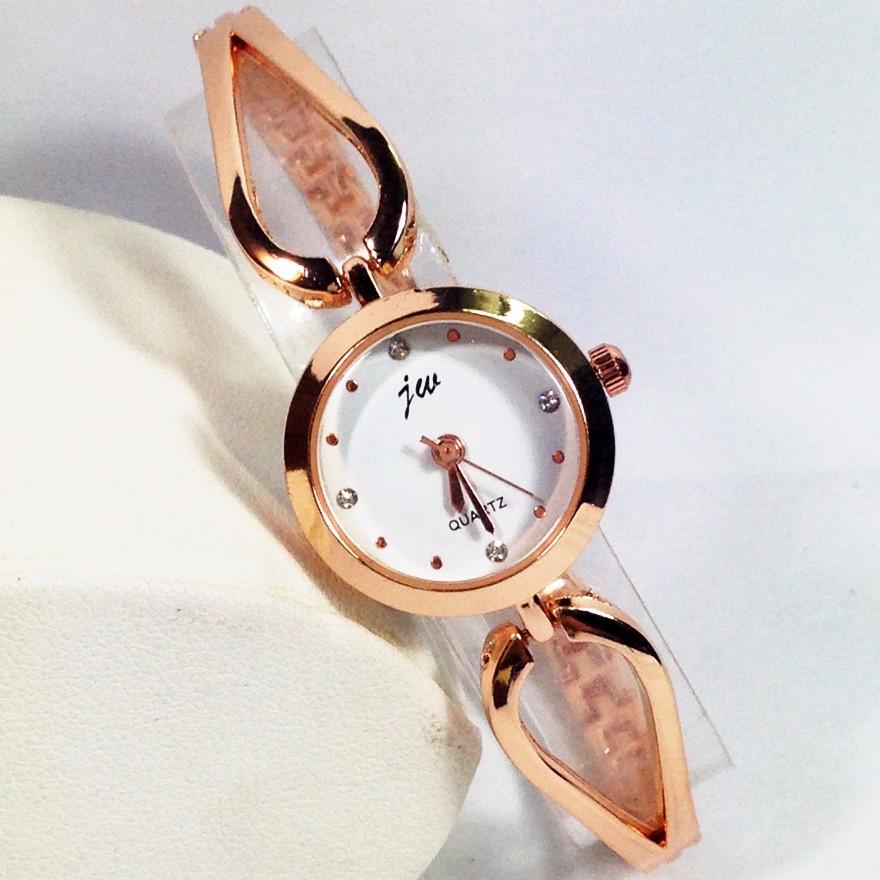 Đồng hồ nữ dây thép cao cấp JW j811