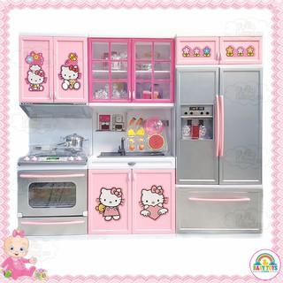 Bộ Đồ Chơi Nhà Bếp Hello Kitty Cho Bé (Cam Kết Hàng Như Ảnh)