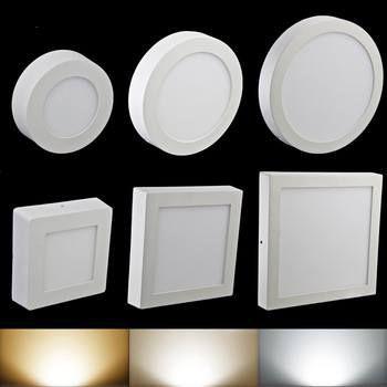 đèn ốp nổi vuông tròn ánh sáng trắng hoặc vàng 18W/24W