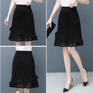 Chân váy đuôi cá công sở dáng dài vải Umi mềm mịn, tôn dáng trẻ trung lắm thumbnail