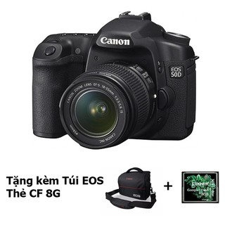 Bộ Máy Ảnh Canon EOS 50D Và Ống Kính 18-55 IS mới 99%