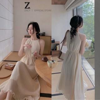 Đầm suông nữ 2 lớp trẻ trung đủ size,váy suông nữ ĐK066, váy maxi thumbnail