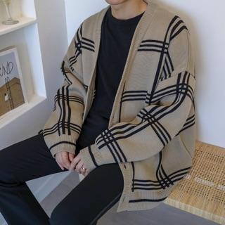 (Hàng đặt trước) Áo cardigan len nam