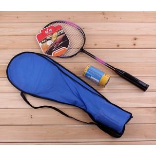 Bộ vợt đánh + trái cầu lông