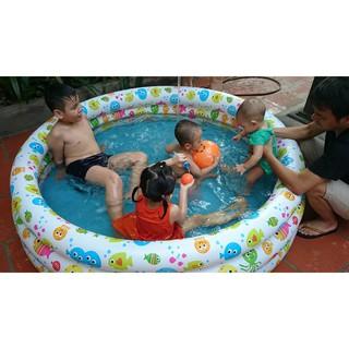 [Rẻ Vô Địch] Freeship 99k – bể bơi mini cho bé kèm phao và bóng