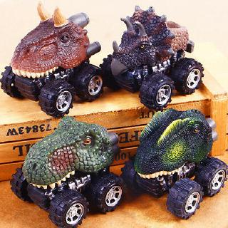 Dinosaur Modle Car Toys Pull Back Kids Children Cool Toy Gift