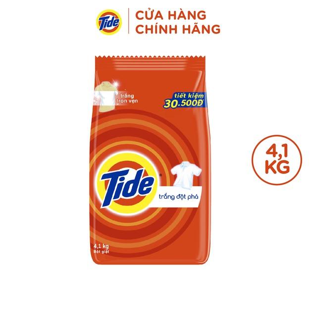 Bột giặt Tide Trắng Đột Phá Túi 4.1kg