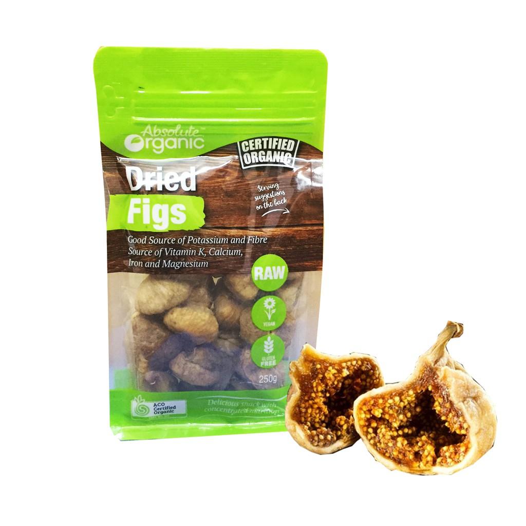 Quả sung sấy khô hữu cơ Organic Úc 250g