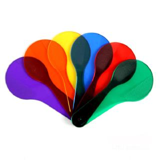 Kids Color Recognation Plate Colour Filter Paper Educational Toy