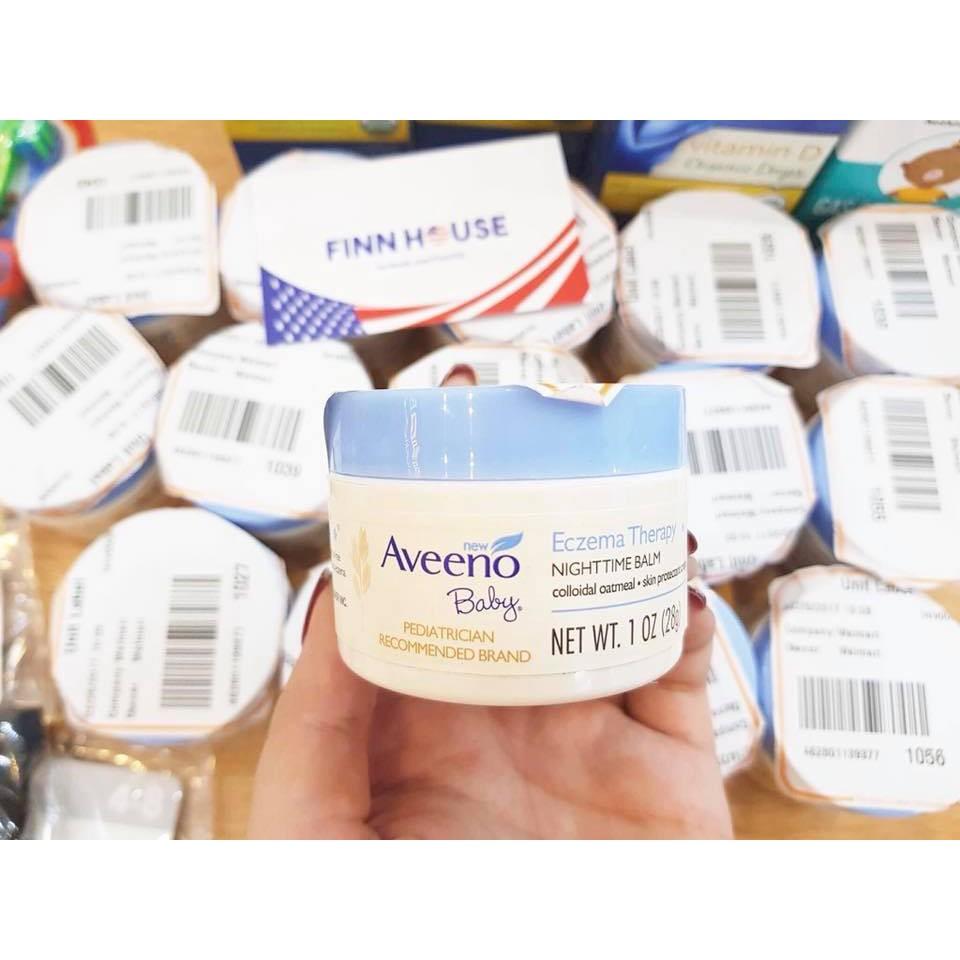 Kem bôi đặc trị chàm nhẹ dịu ban đêm cho trẻ Aveeno Baby Eczema Therapy Nighttime Balm - 13639755 , 610499504 , 322_610499504 , 180000 , Kem-boi-dac-tri-cham-nhe-diu-ban-dem-cho-tre-Aveeno-Baby-Eczema-Therapy-Nighttime-Balm-322_610499504 , shopee.vn , Kem bôi đặc trị chàm nhẹ dịu ban đêm cho trẻ Aveeno Baby Eczema Therapy Nighttime Balm