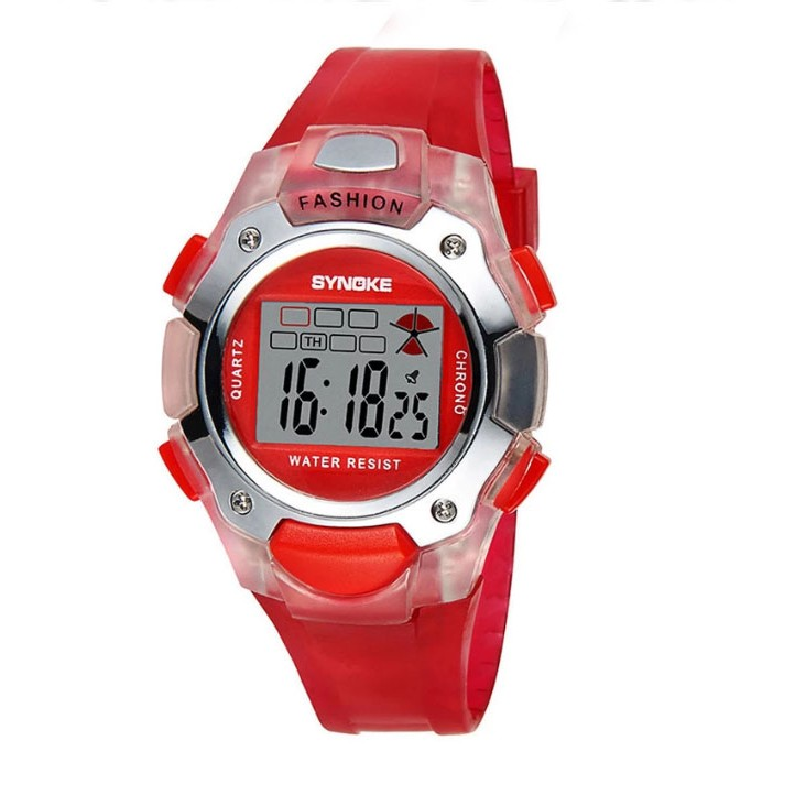 Đồng hồ thể thao trẻ em Synoke 99319 nhiều màu