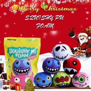 ★★★★★ Halloween Slow Rising Squishies Scented Monsters Squeeze Toy Stress Relief Gift
