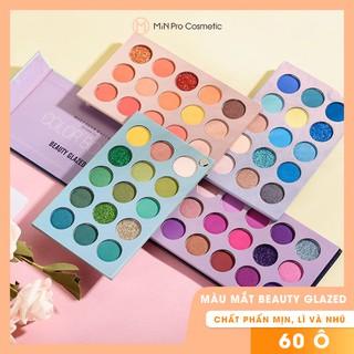 Bảng màu mắt Beauty Glazed Color Board 60 ô 4 tầng đủ nhỏ gọn, tiện lợi mang theo người thumbnail