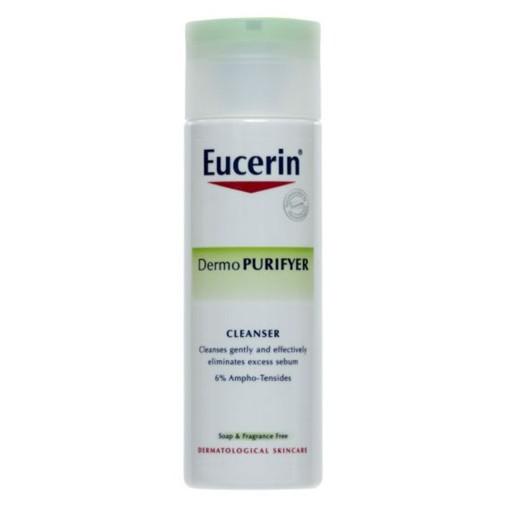 Sữa rửa mặt giảm nhờn ngừa mụn Dermo Purifyer Cleanser - Eucerin