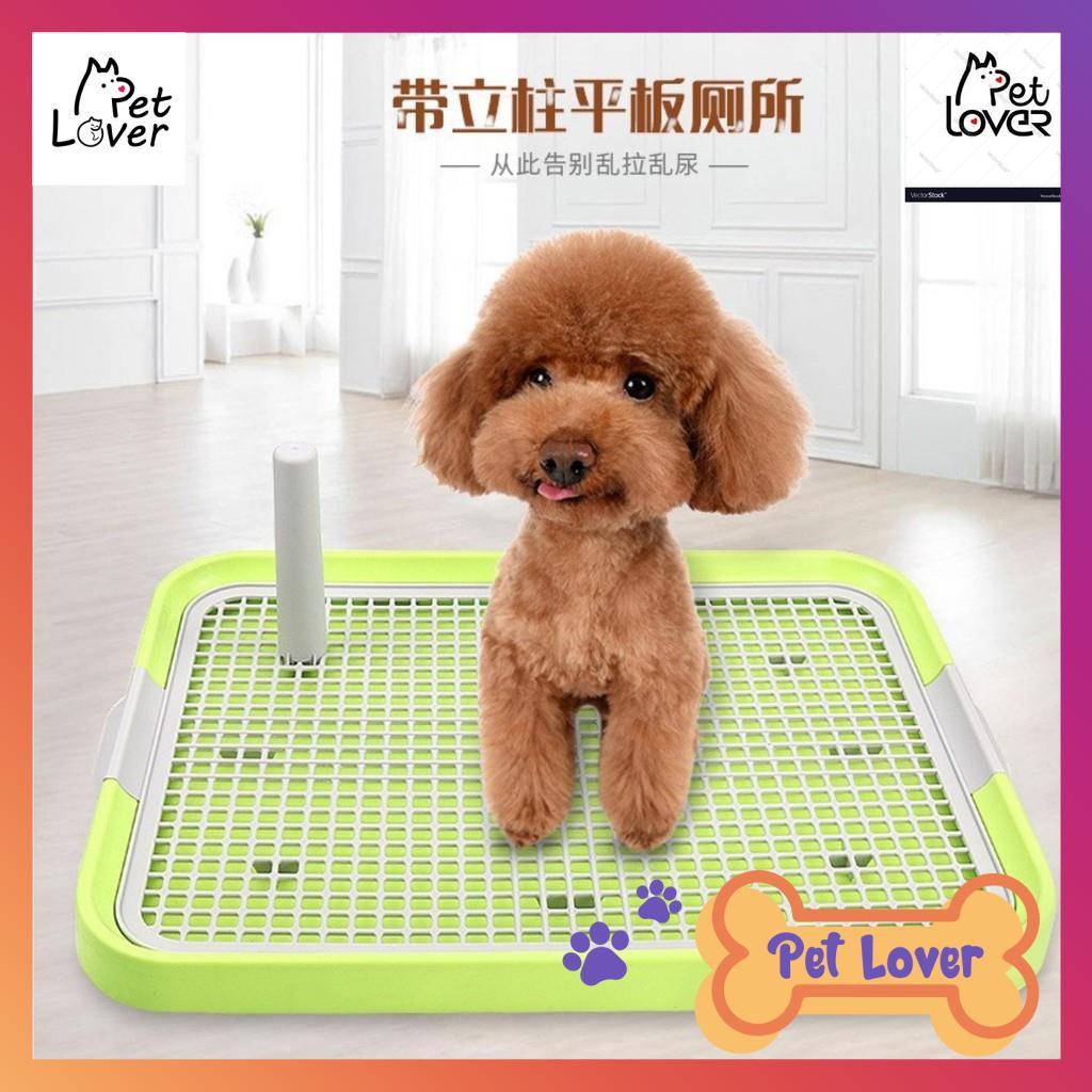 [FREESHIP] Khay vệ sinh cho chó, khay đi vệ sinh cho chó size 50 36 cm, phù hợp cho chó dưới 7kg- thumbnail