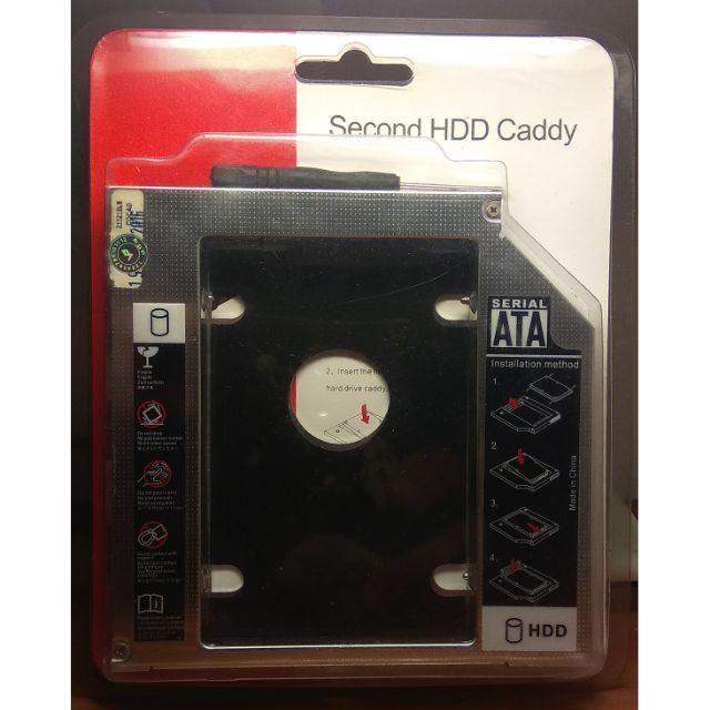 Caddy bay lắp thêm HDD cho laptop loại dày Giá chỉ 50.000₫