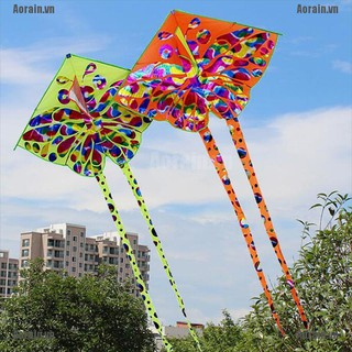 MT Kids kite Toy Creative Butterfly Kite WithTail Easy to fly Outdoor Sport Toys NY