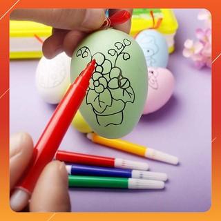 [KAS] Bộ 10 quả trứng tô màu cho bé B1105 – Kèm bút màu Giảm giá