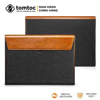 Túi Chống Sốc Laptop Macbook Tomtoc Premium Leather (H15) thumbnail