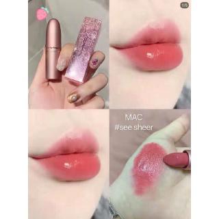 [Hàng mới về] Son môi MAC ống bằng nhôm màu tuyệt đẹp cao cấp thumbnail