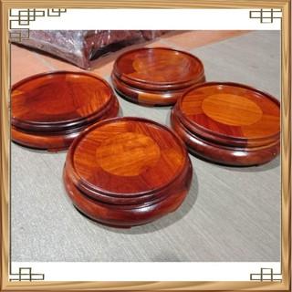 Đế kê bát nhang gỗ hương nhiều cỡ mặt cao 6cm giá rẻ