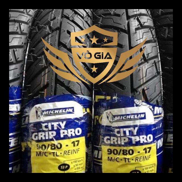 Vỏ Xe Michelin City Grip Pro (Vỏ Không Ruột) Và City Pro (Vỏ Dùng Ruột) Tất Cả Các Size Cho Tay Ga Và Xe Số