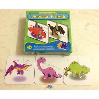 Bộ ghép hình 2 mảnh chủ đề khủng long – My first puzzle matcht it