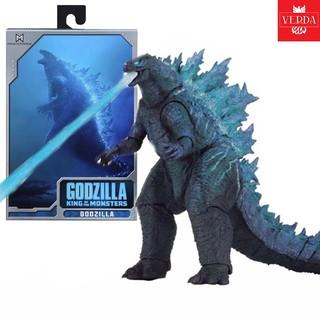 [GÓI QUÀ MIỄN PHÍ-KÈM VIDEO] Mô hình NECA Godzilla 2019 SHM Ultraman Figure Quái Vật Ver 2 King of the Monsters Lửa Xanh