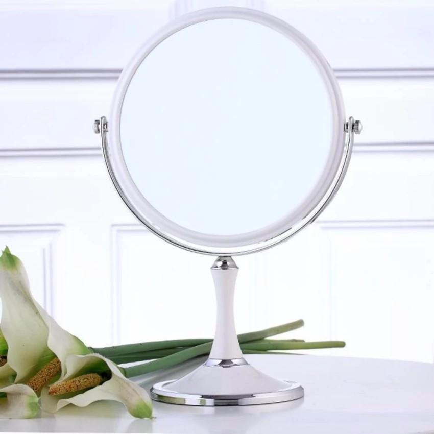 gương trang điểm 2 mặt xoay 360 độ mẫu