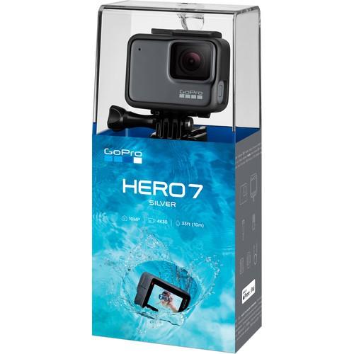 [ Ở ĐÂU RẺ HƠN XIN HOÀN TIỀN] GoPro HERO 7 Silver - Chính hãng
