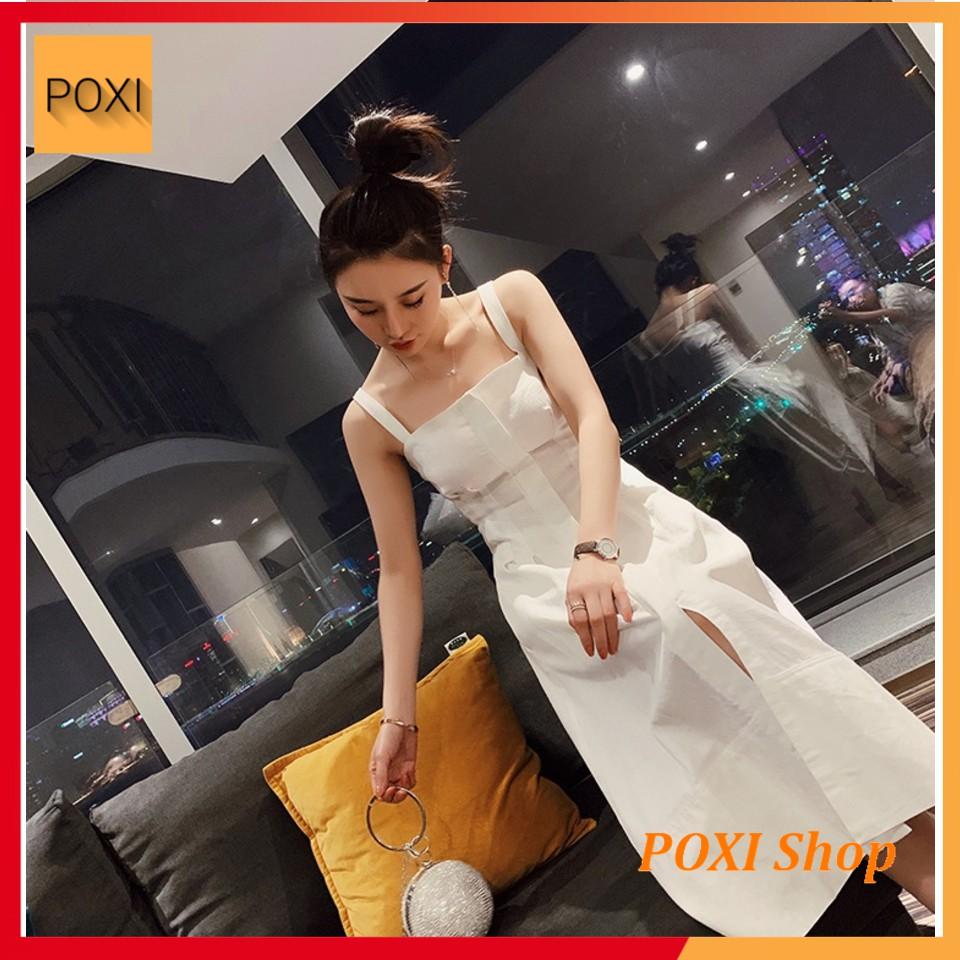 [ẢNH THẬT] Đầm Xòe 2 Dây AJIN - Dress (TRẮNG)