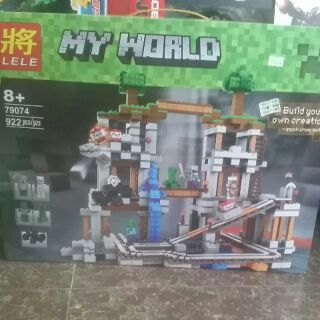 Lego Minecraft 79074. 922 khối. Nhà máy TNT.