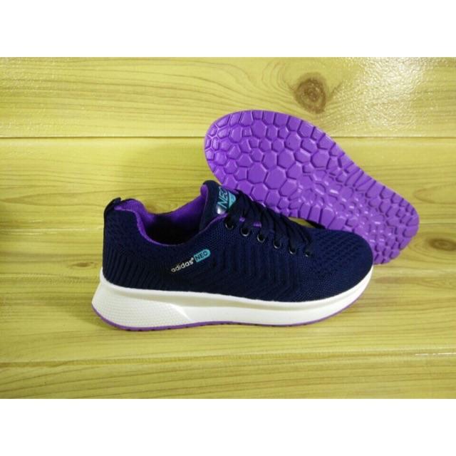 Giày thể thao nữ Adidas Neos tím 9858