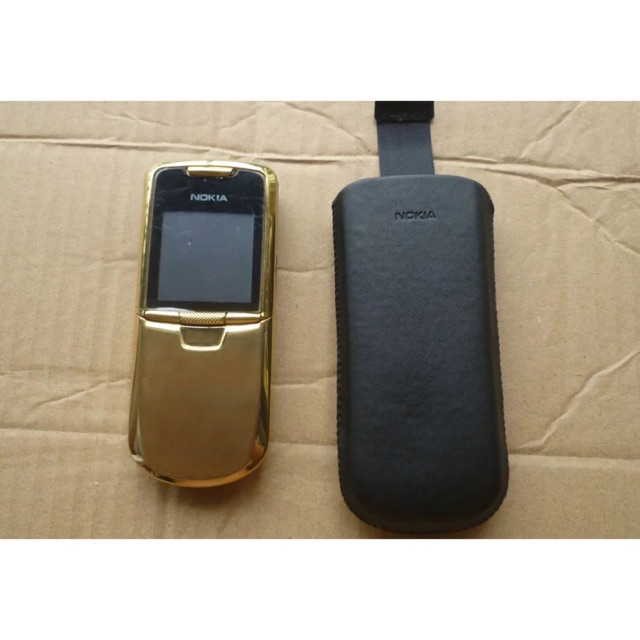 Bao da Nokia 8800 Carbon Gold Sapphire Arte (da thật)