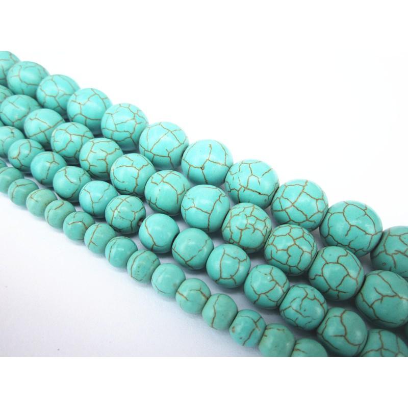 dây chuyền màu xanh ngọc lam