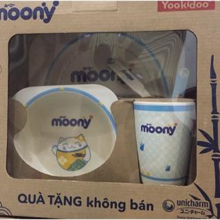 bộ ăn dặm YOOKIDOO (hàng quà tặng moony )
