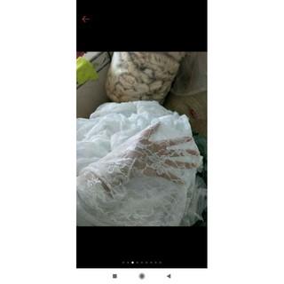 vải ren may đồ búp bê QA7787