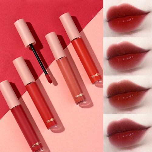 Set 5 son kem siêu mịn môi MENGSIQI cho đôi môi căng mọng DU SM06