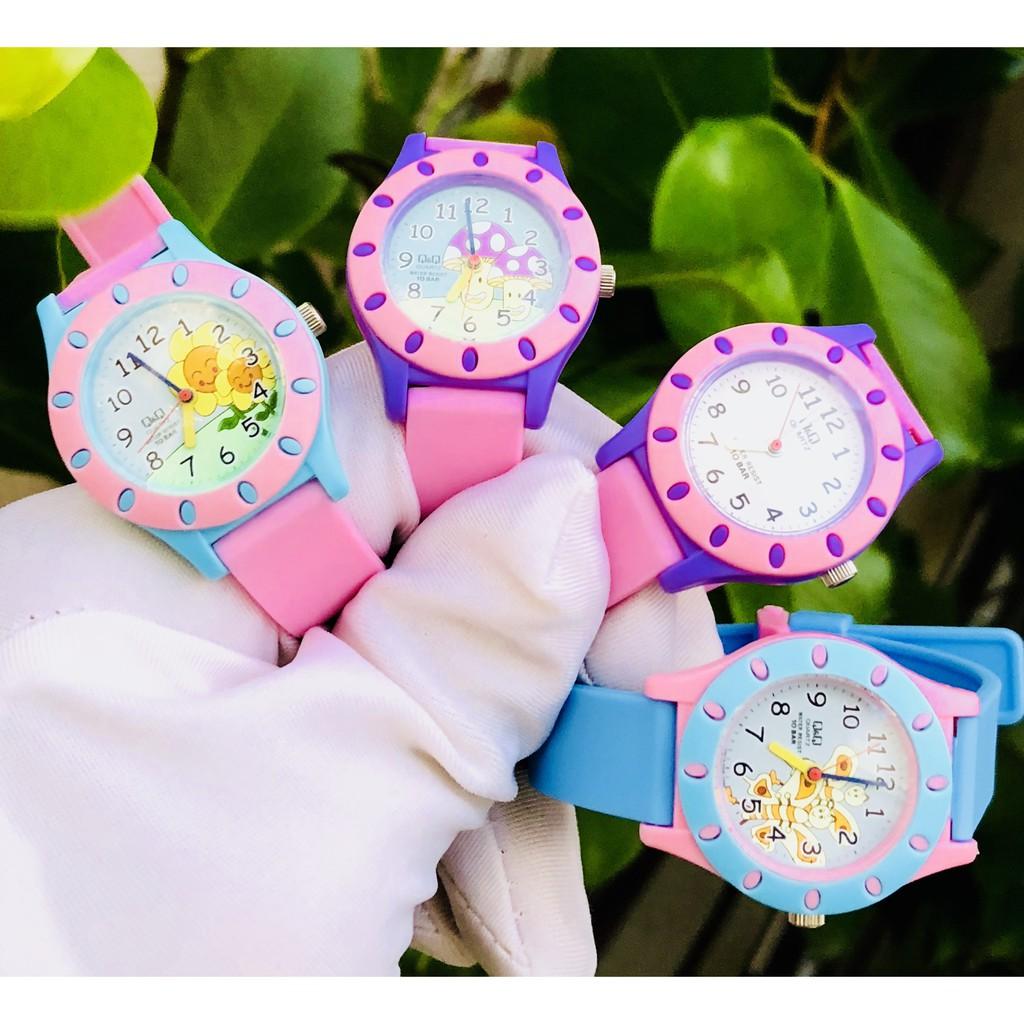 Đồng hồ trẻ em Citizen QQ mini Thêm chút sắc màu cho các bé yêu - Máy Quartz Pin