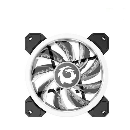 [ Shoppe Sales ]  Bộ 3 Fan tản nhiệt RGB Case FORGAME CAT EYE (3 Fan + Hub + Điều khiển)