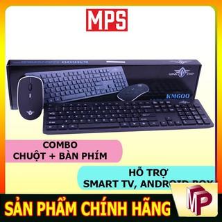Bộ Bàn phím + Chuột WarShip KM600 không dây hỗ trợ smart TV, Android Box - Minh Phong Store thumbnail