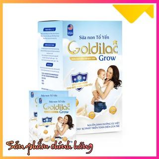 FREESHIP Sữa non tổ yến GOLDILAC GROW hộp 280g thumbnail