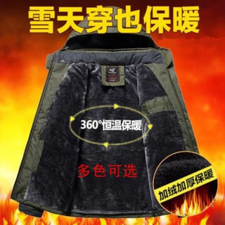 Áo Khoác Cotton Thời Trang Mùa Đông Cho Nam