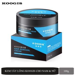 Kem tẩy lông Koogis loại bỏ lông chân và lông mặt, vùng kín