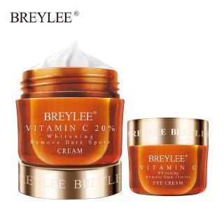 Set 2 kem dưỡng mắt và da mặt BREYLEE chứa Vitamin C làm trắng xóa mờ quầng thâm tàn nhang hiệu quả thumbnail